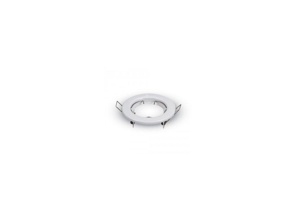 Obruba pro bodové svítidlo pro GU10 R bílé 2ks (VT-778-3584)