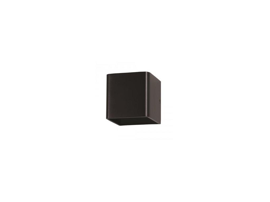 LED nástěnné svítidlo Q 5W 3K černé (VT-758-7084)