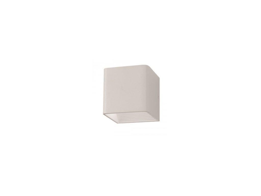LED nástěnné svítidlo Q 5W 3K bílé (VT-758-7085)
