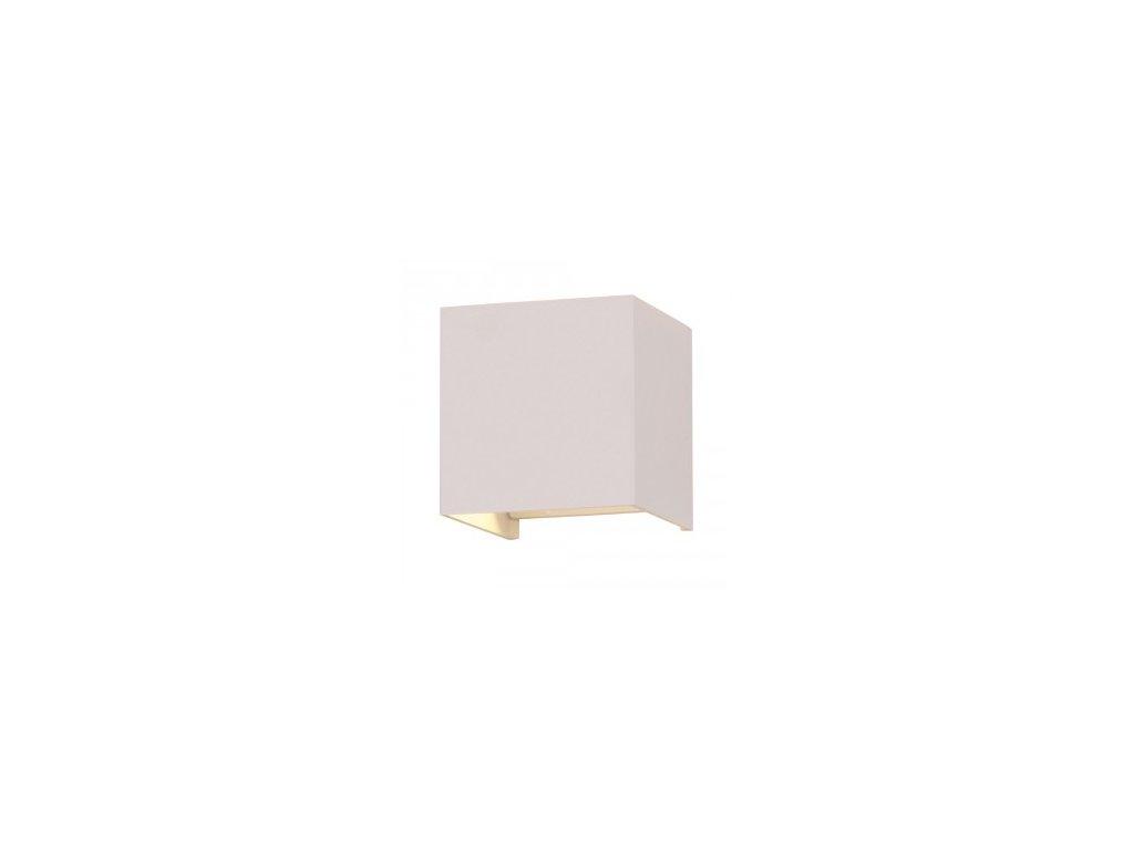 LED nástěnné svítidlo Q 6W 4K bílé (VT-759-7088)