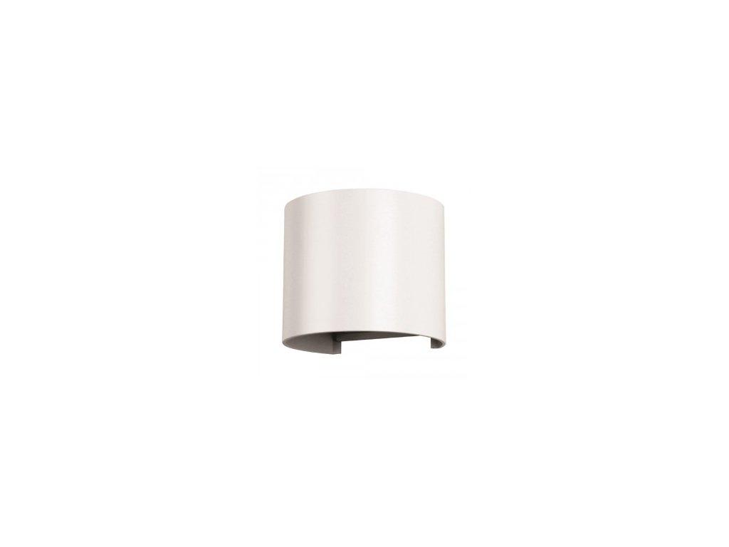 LED nástěnné oblé svítidlo 6W 4K bílé (VT-756-7091)