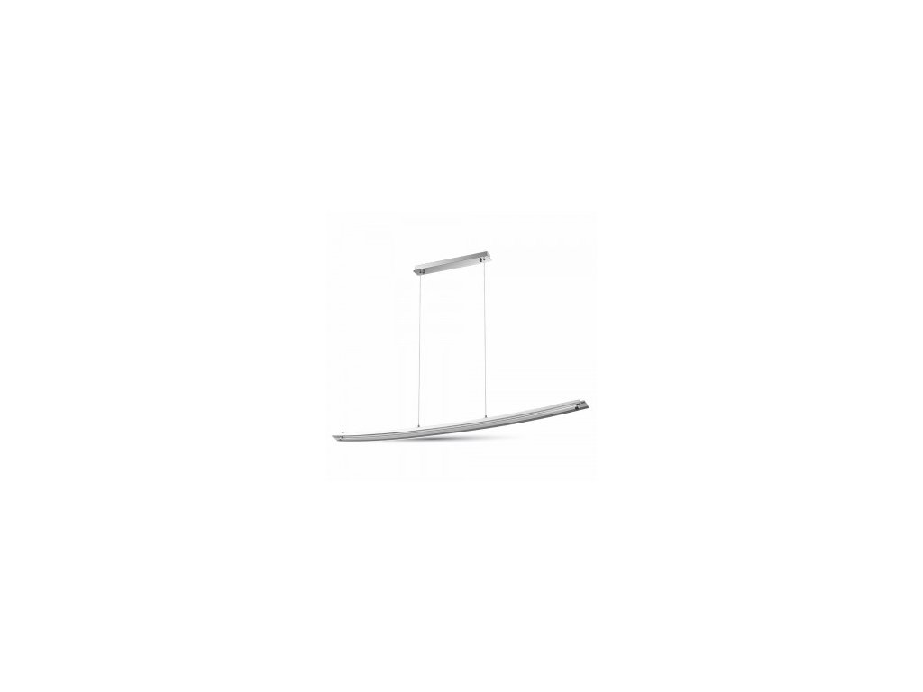 40418 led svetlo zavesne prohnute chrome 4k vt 7020 3898