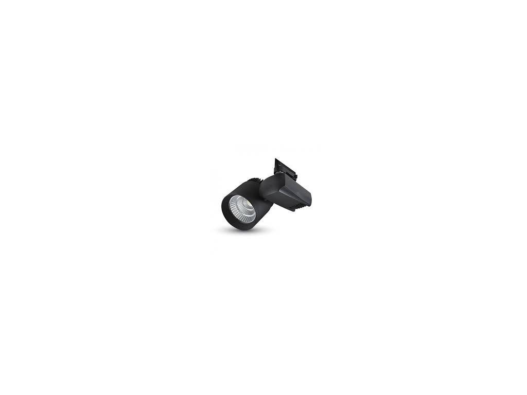 LED 4-fázový projektor pro lištový systém černý 35W 4K (VT-4540T-1192)