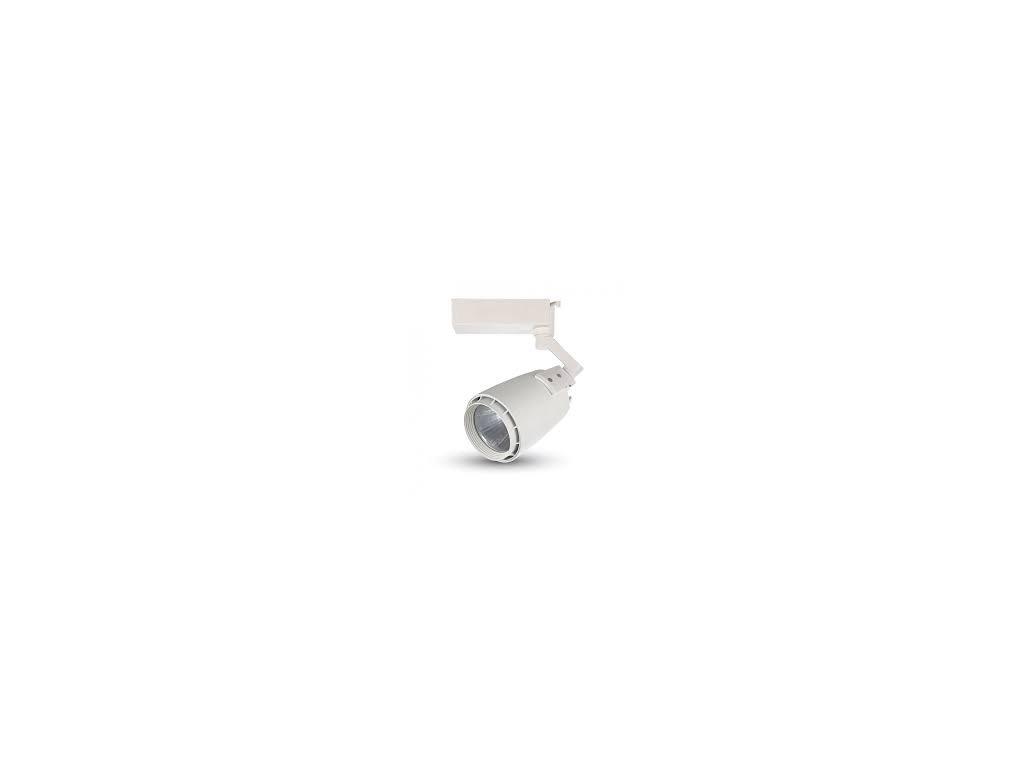 LED 4-fázový projektor pro lištový systém bílý 33W 4K (VT-4534-1229)