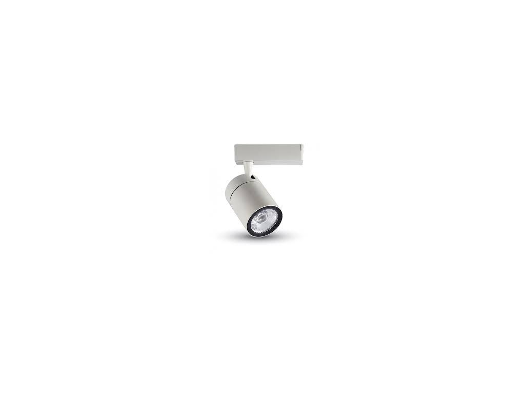 LED 4-fázový projektor pro lištový systém bílý 35W 6K (VT-4536-1257)