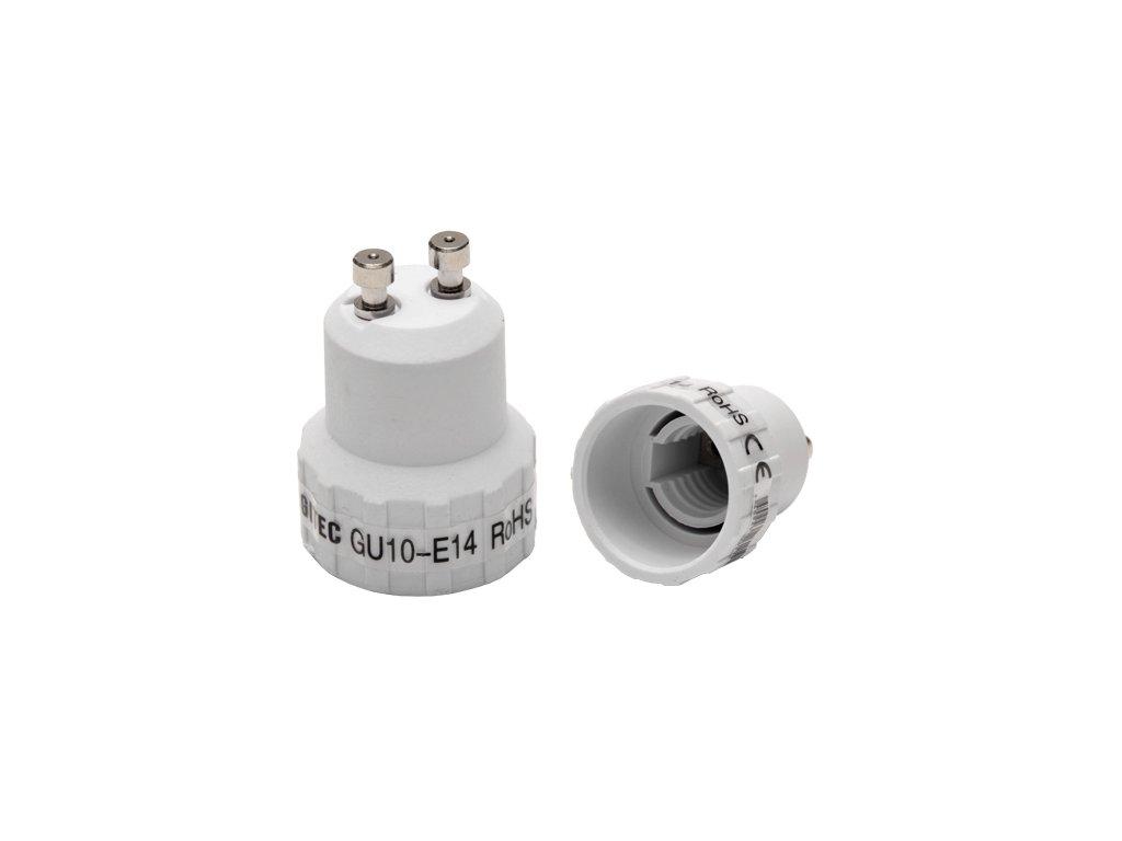 Adaptér GU10 na E14 závit (33743)