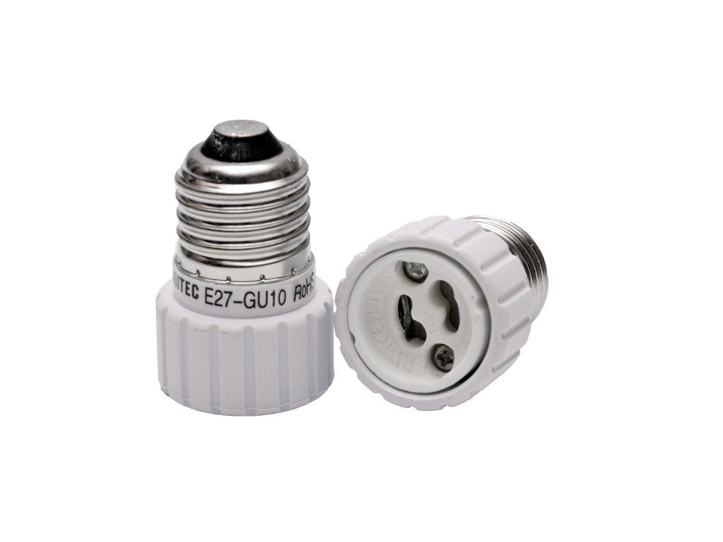 Adaptér E27 na GU10, závit (33767)