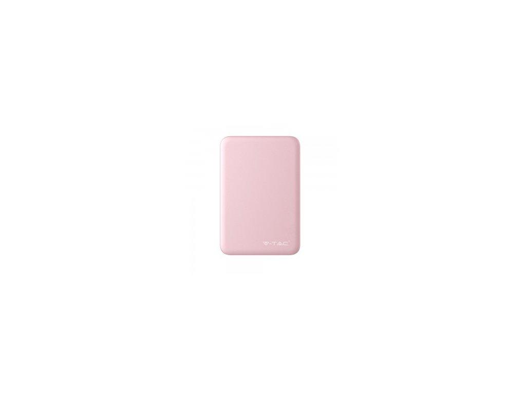 Powerbanka V-TAC VT-3503 5000mAh růžová (33845)