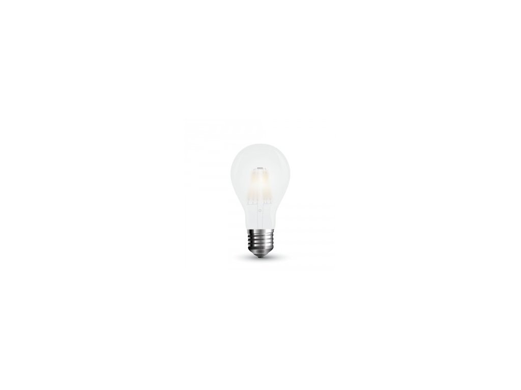 LED žárovka 10W A60 6400K 1055lm filament (VT-2023-7154)