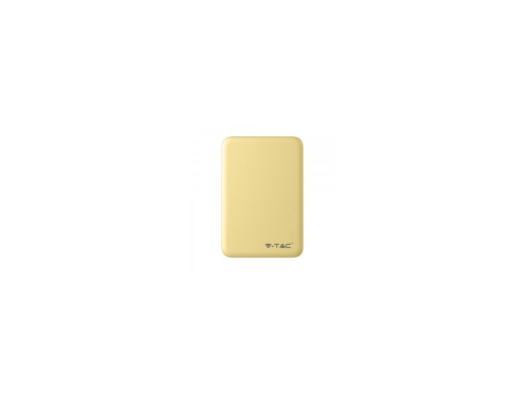 Powerbanka V-TAC VT-3503 5000mAh žlutá (34337)