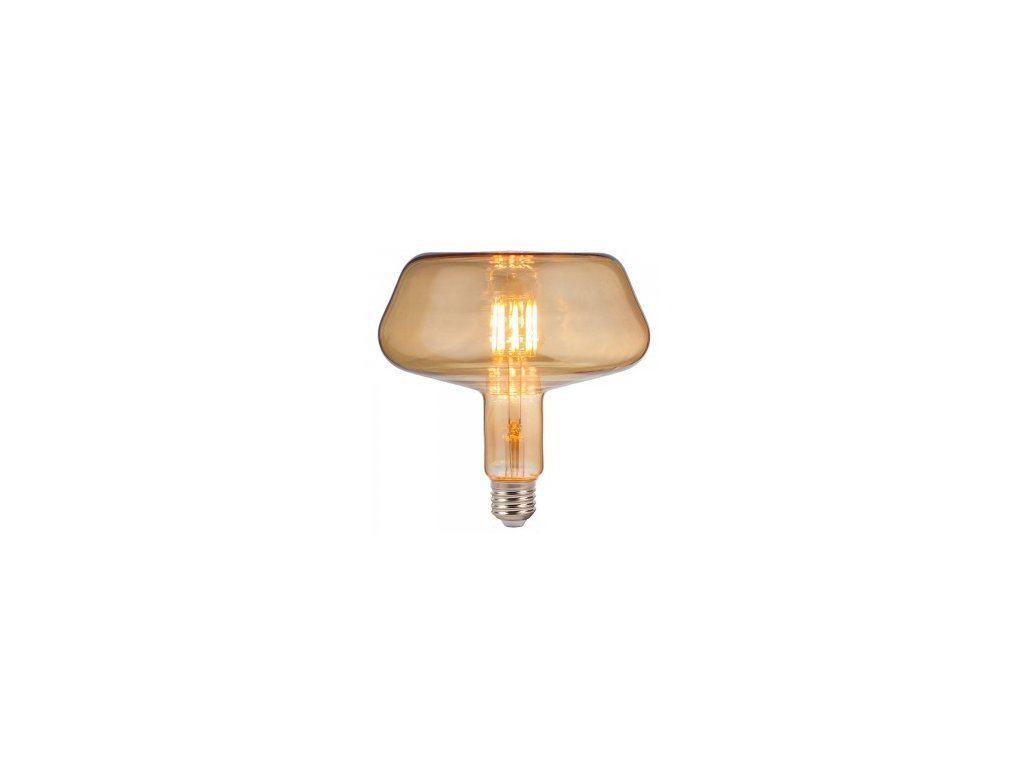 LED žárovka 8W T180 E27 filament Amber (VT-2308-2790)