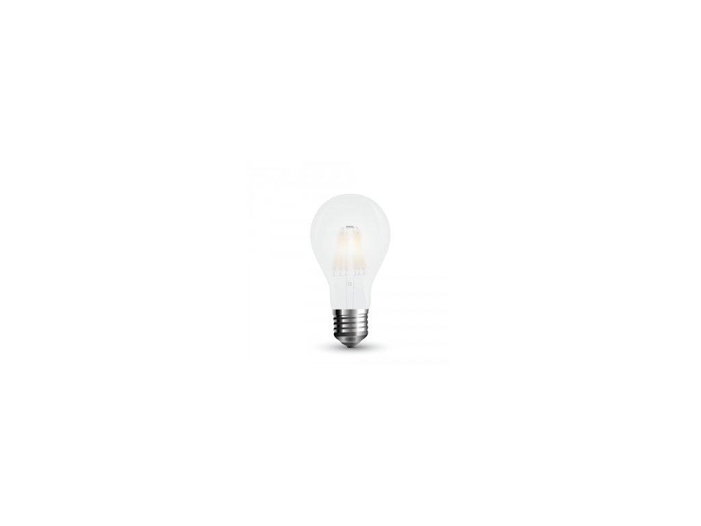 LED žárovka 10W A60 4K 1055lm filament (VT-2023-7153)