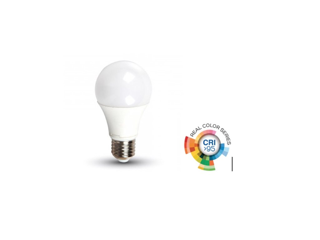 LED žárovka E27 12W CRI 95 4500K (VT-2212-7483)