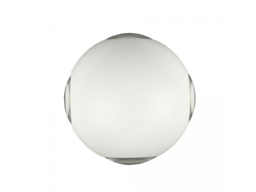 LED nástěnné svítidlo 4W 4000K IP65 bílé 4 směry (VT-834-W-8552)