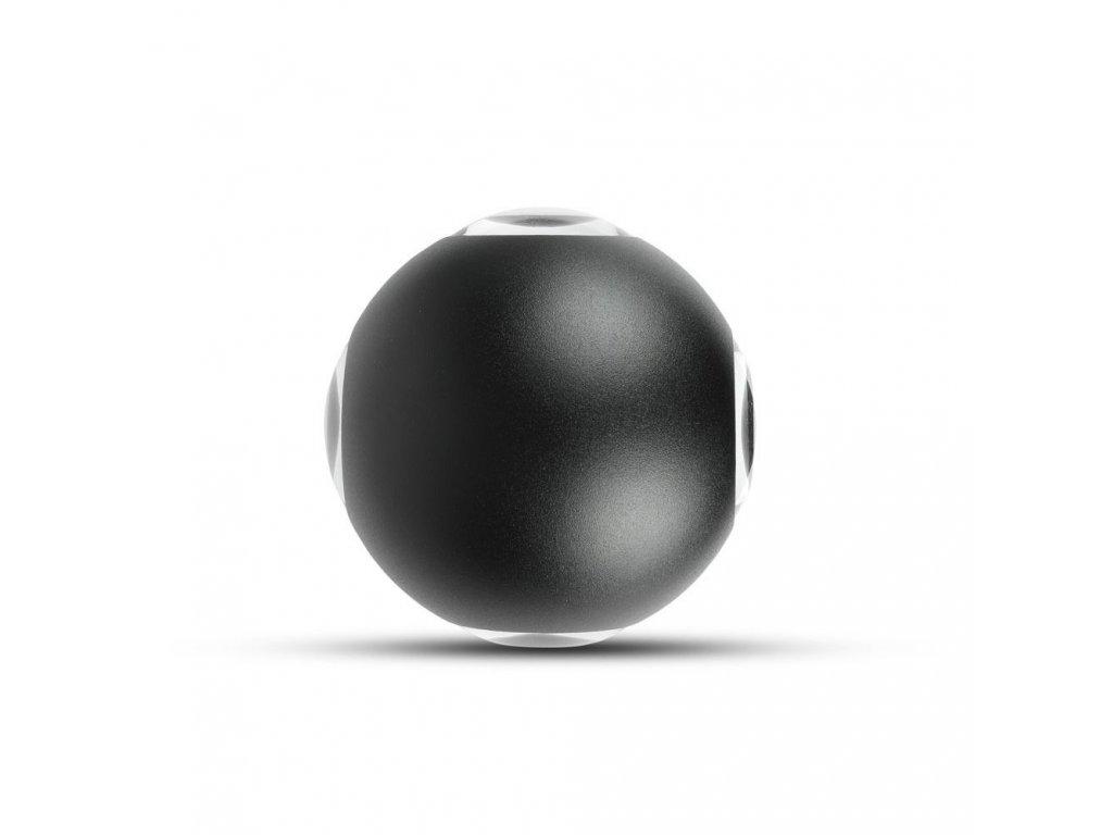 LED nástěnné svítidlo 4W 3000K IP65 černé 4 směry (VT-834-W-8553)