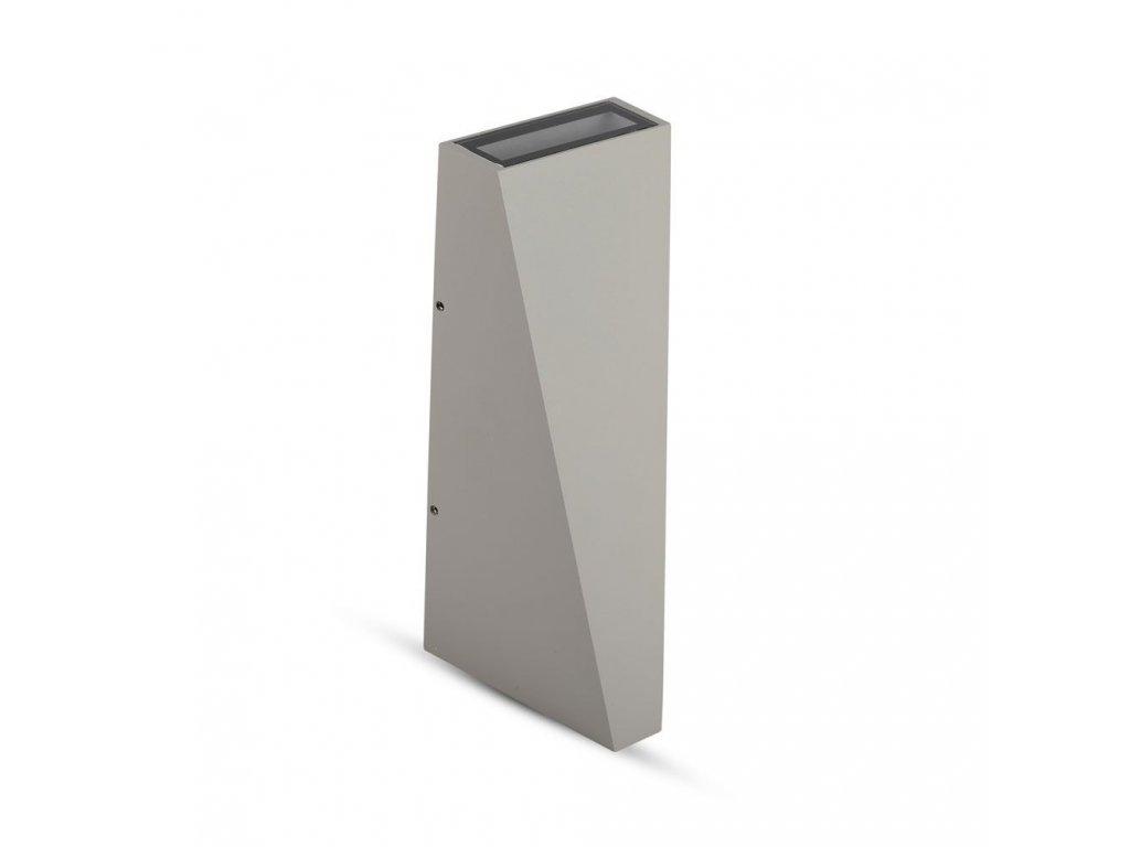 LED nástěnné svítidlo 6W 3000K IP65 šedé (VT-826-8299)