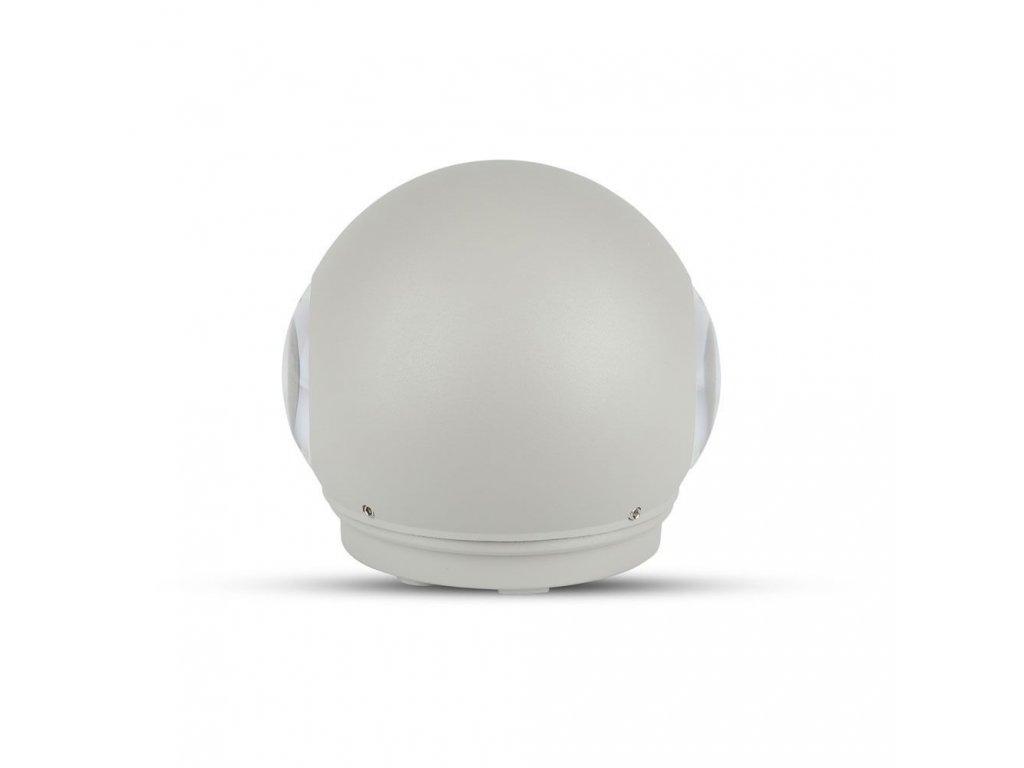 LED nástěnné svítidlo 6W 3K šedé (VT-836-8305)