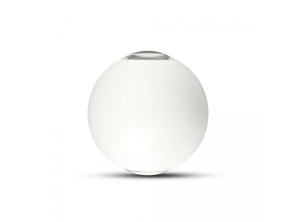 LED nástěnné svítidlo 6W 4K bílé IP65 (VT-836-8302)