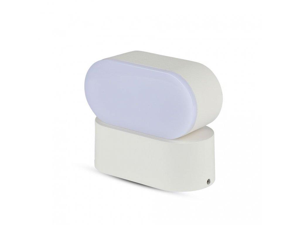 LED nástěnné svítidlo 6W 4000K IP65 bílé (VT-816-8287)
