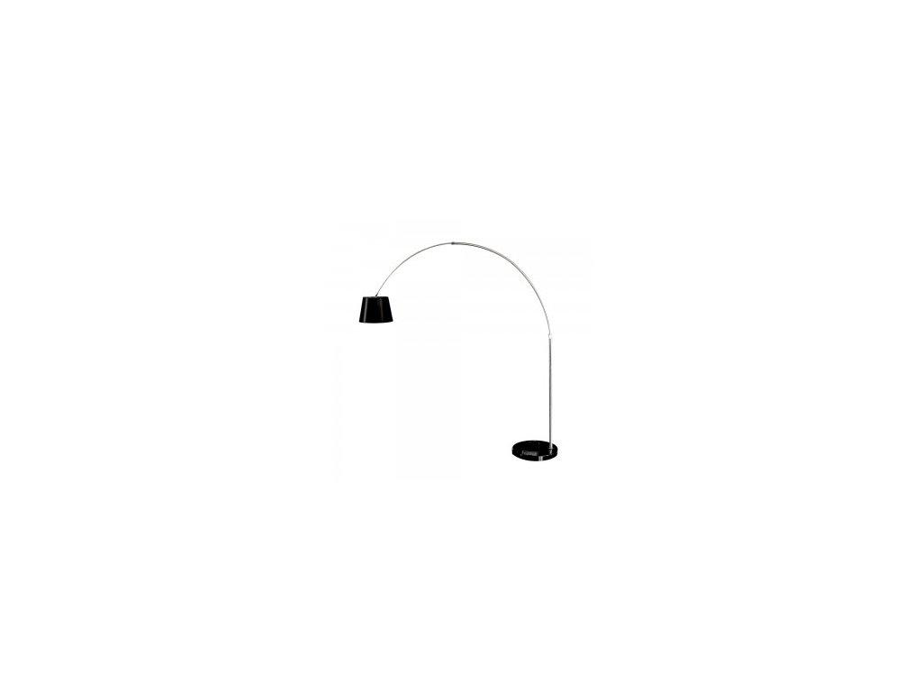43772 moderni stojaci lampa cerna s mramorovou zakladnou vt 7451 8564