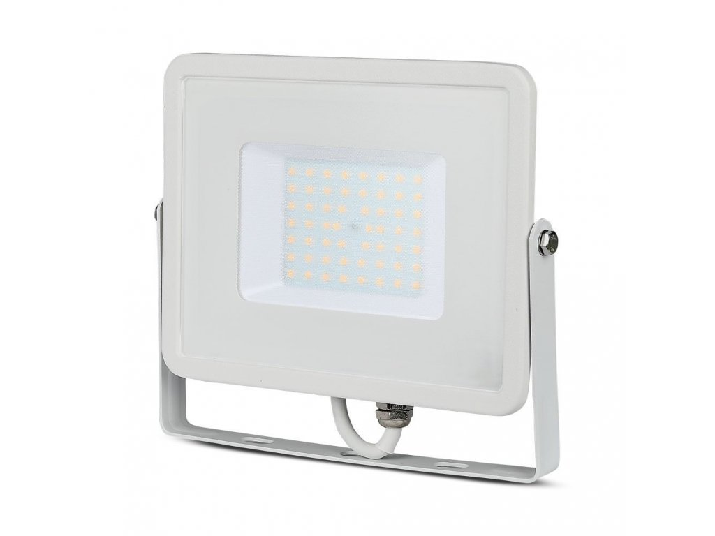 44891 led reflektor slimline samsung 50w ip65 6400k vt 50 1 952