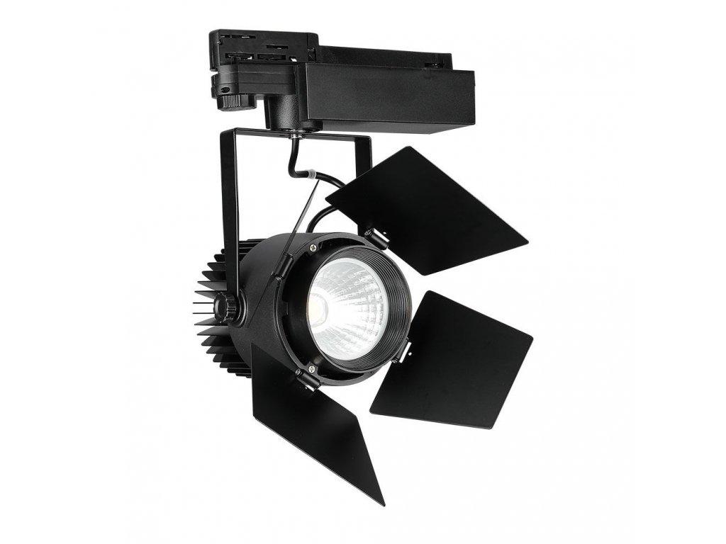 45524 led 4 fazovy projektor pro listovy system samsung 33w 3000k cerny vt 433 b 371