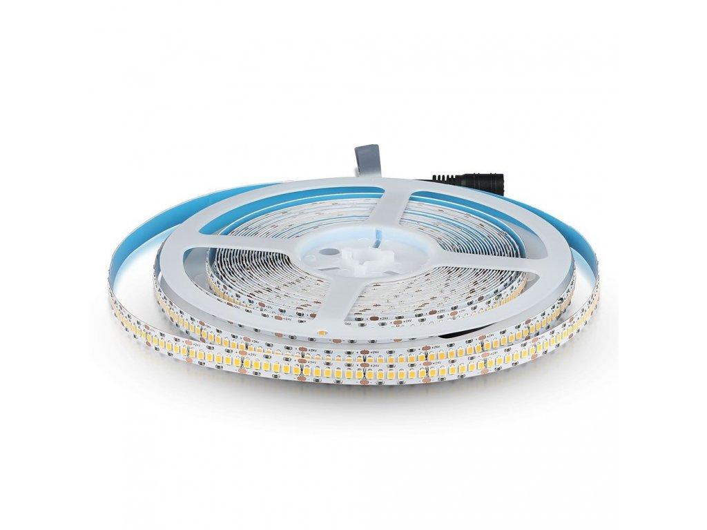 LED pásek s čipy SAMSUNG 18W 24V 3000K CRI>95 (VT-10-240-1-331)