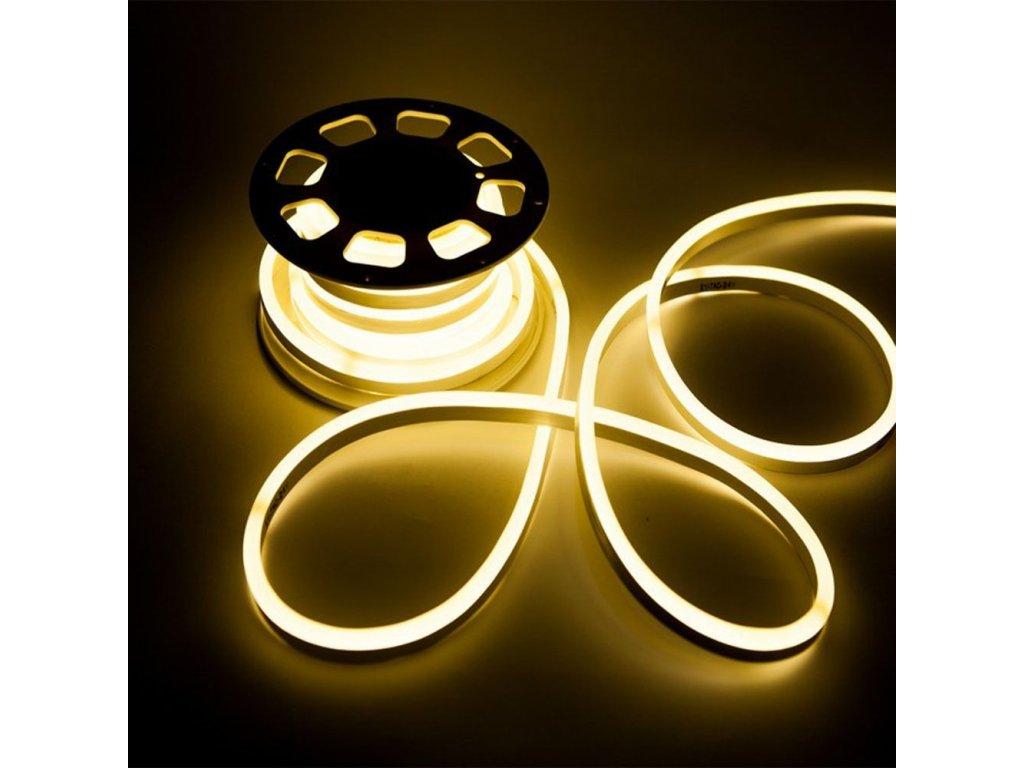 45845 led pasek neon 10w m 12v 3000k ip68 vt 55 326