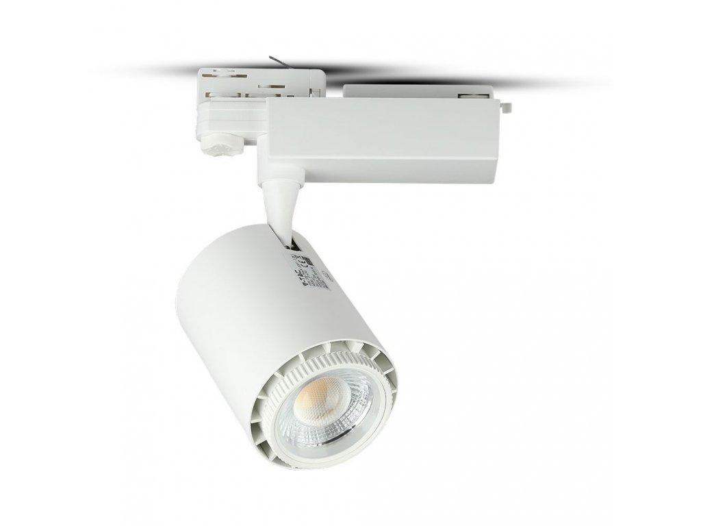 45983 led 4 fazovy projektor pro listovy system bily 35w 3v1 vt 4745 1412