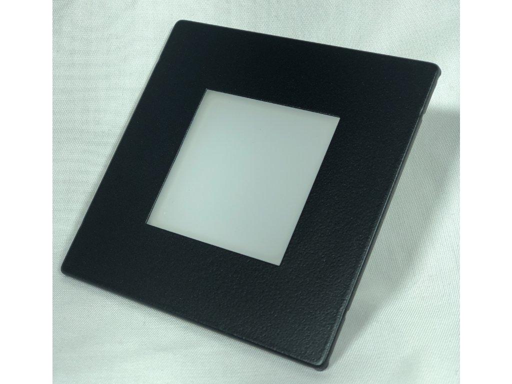 46121 8 led vestavne svitidlo antracit ip65 3000k do krabice ku68