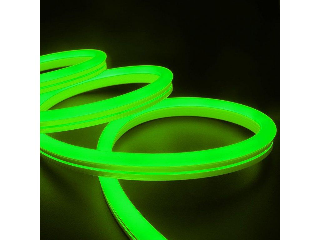 Neonový pásek IP68 24V 6,5W zelená (VT-554-2616)