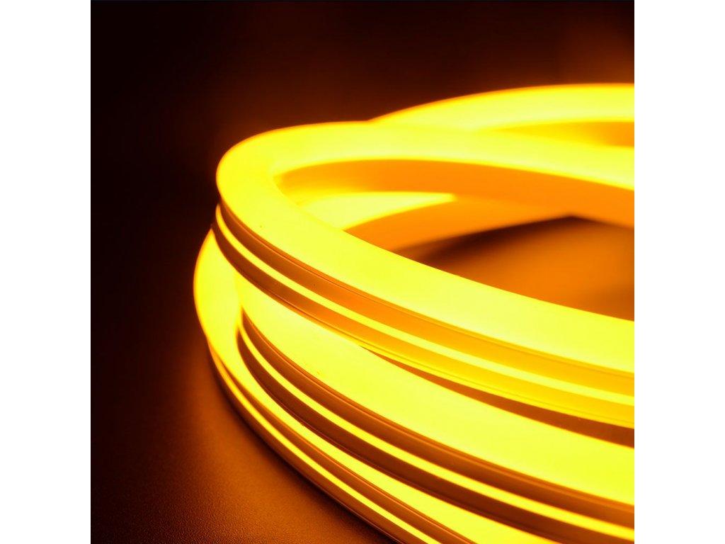 Neonový pásek IP68 24V 6,5W žlutá(VT-554-2617)