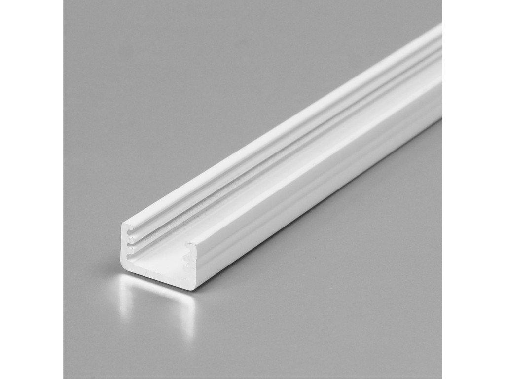Hliníkový profil SLIM8 A/Z bílý lak 2m (metráž) (3209140120)