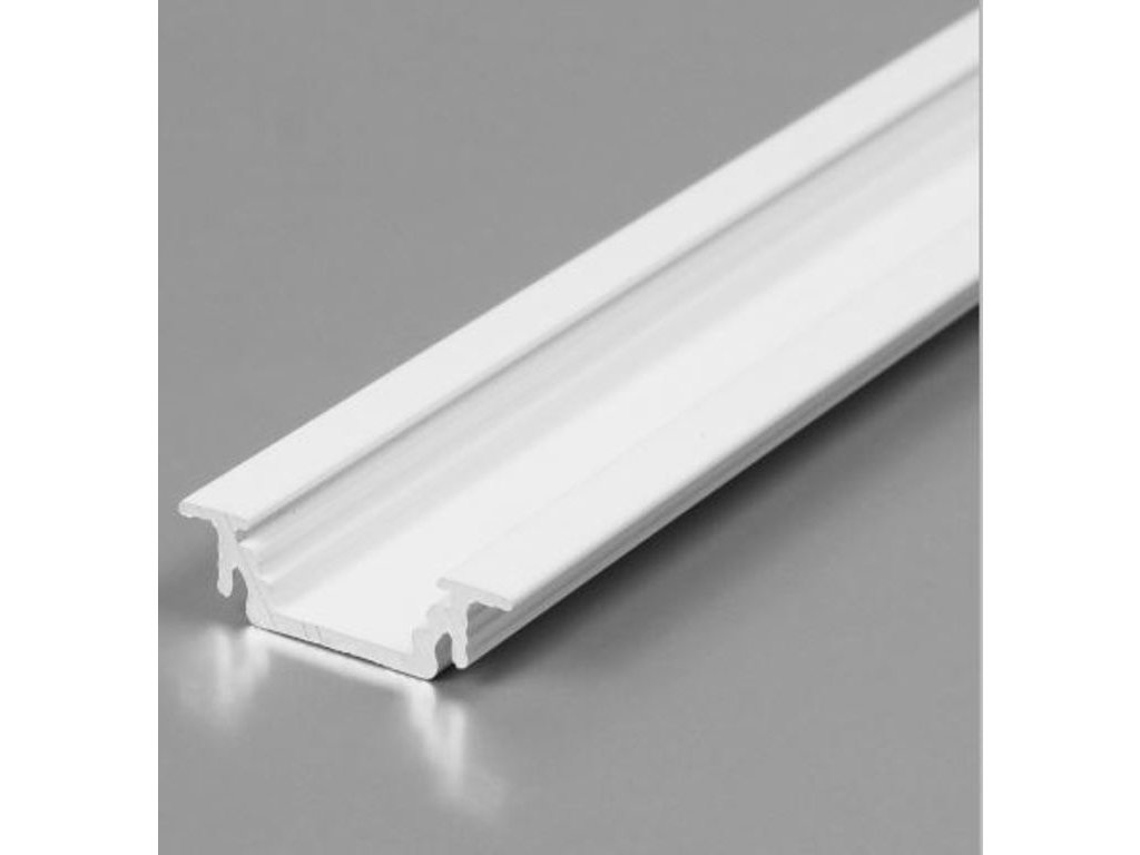 50750 hlinikovy profil groove 10 bc ux bily lak 2m metraz 3209119120