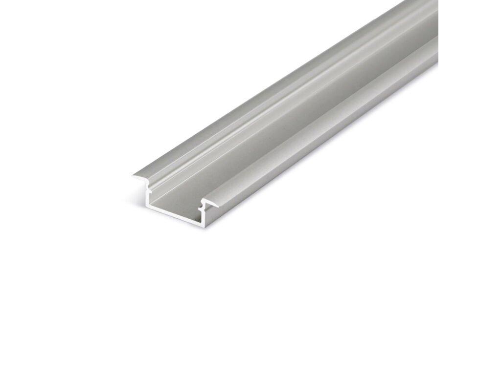 Hliníkový profil WIRELI BEGTIN 12 J/S stříbrný mat elox 2m (metráž) (3209287120)