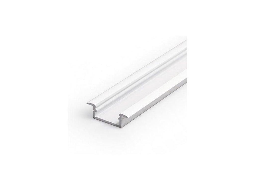 Hliníkový profil WIRELI BEGTIN 12 J/S bílý lak 2m (metráž) (3209289120)