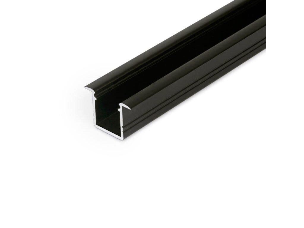 Hliníkový profil WIRELI SMART-IN10 A/Z černý elox 2m (metráž) (3209295120)