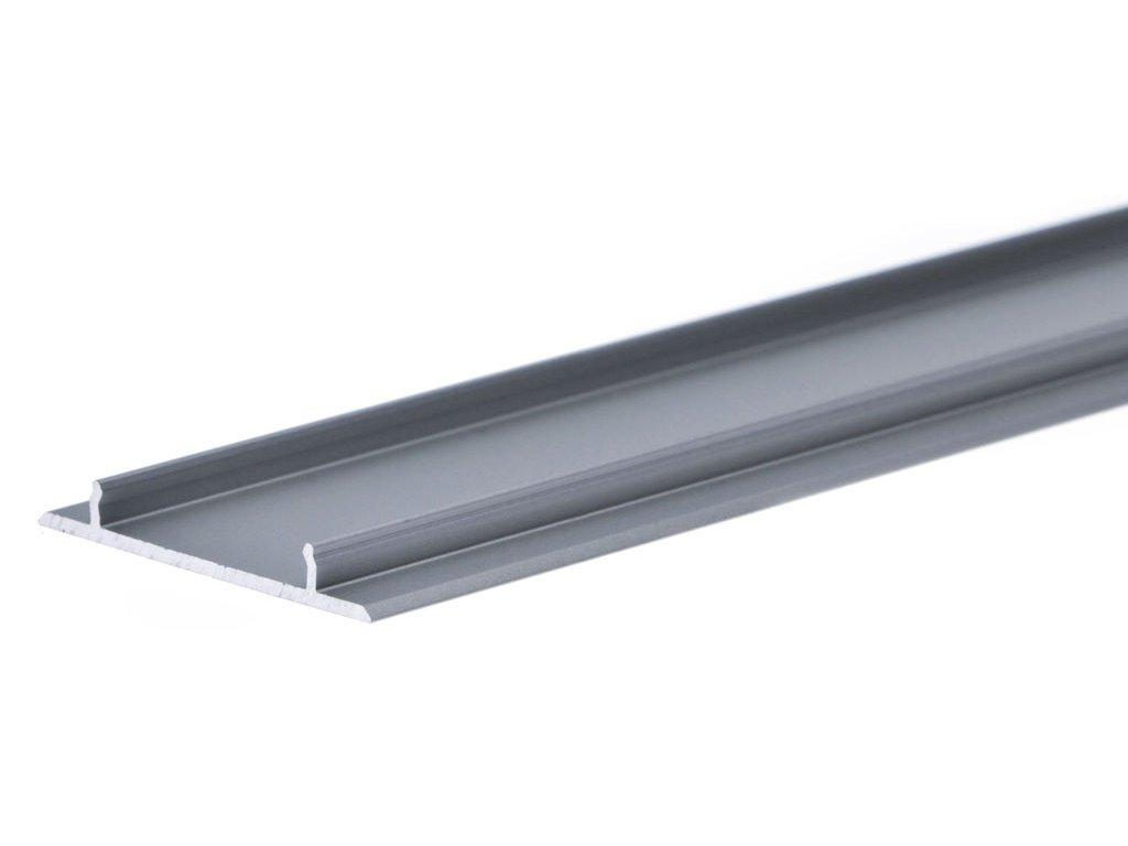 50906 hlinikovy profil vario30 10 zaklopka profilu stribrny mat 2m metraz 3209266120
