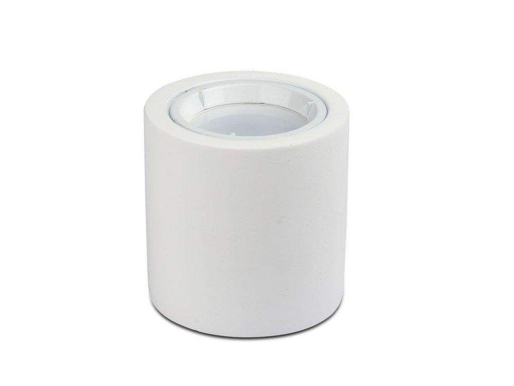 Obruba pro žárovku GU10 bílá (VT-716-3667)