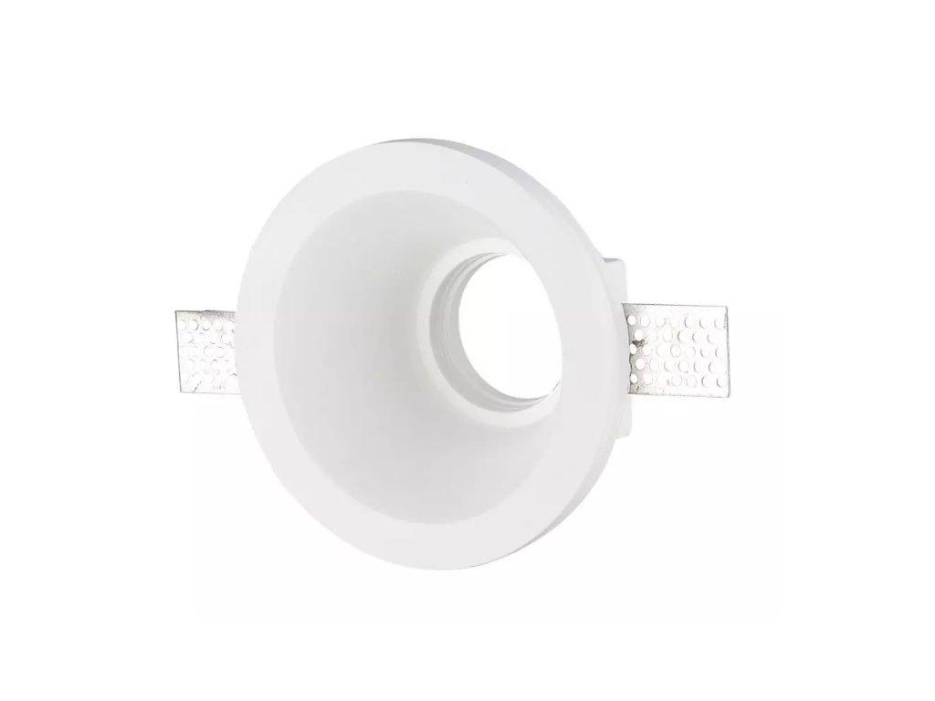 Obruba pro žárovku GU10 bílá (VT-773-3654)