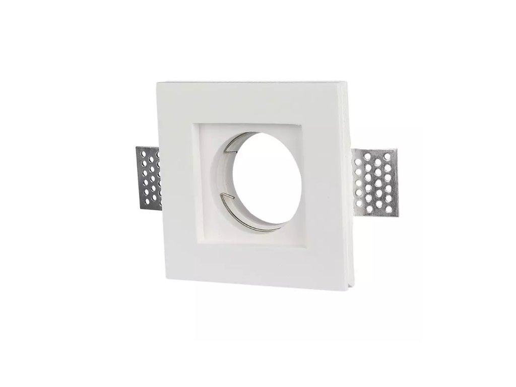 Obruba pro žárovku GU10 bílá (VT-765-3651)