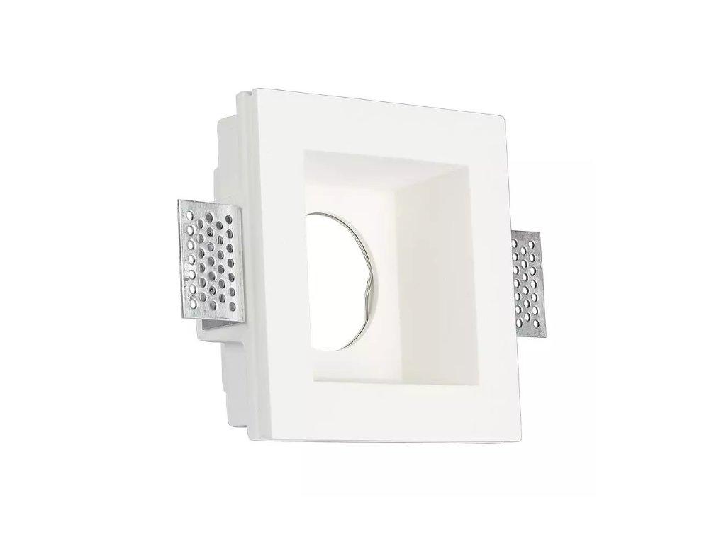 Obruba pro žárovku GU10 bílá (VT-763-3649)