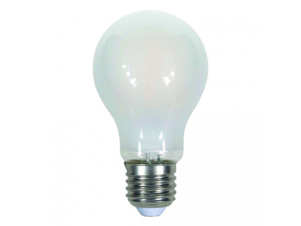 LED žárovka - 7W Filament E27 A60 A++ Frost Cover 4000K (VT-2047-7182)