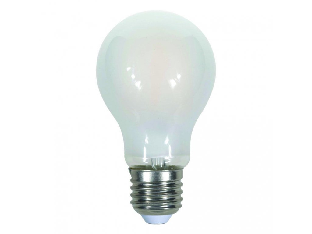 LED žárovka - 9W Filament E27 A67 A++ Frost Cover 4000K (VT-2049-7185)