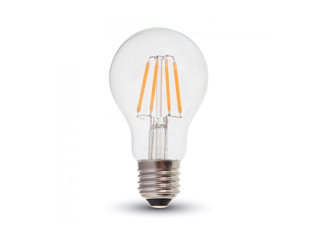 LED žárovka - 10W Filament Patent E27 A67 6400k (VT-1981-4412)