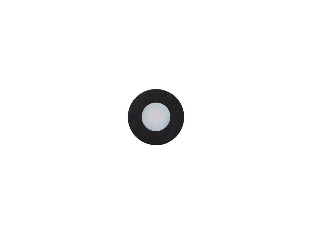 KU 68 černý mat kruh