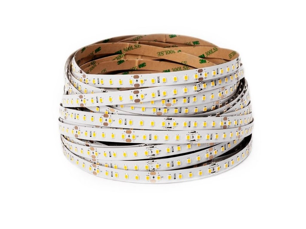 LED pásek 24V 9,6W studená bílá (100043)