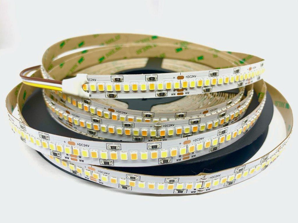 LED pásek 24V 14,4W studená bílá (100022)