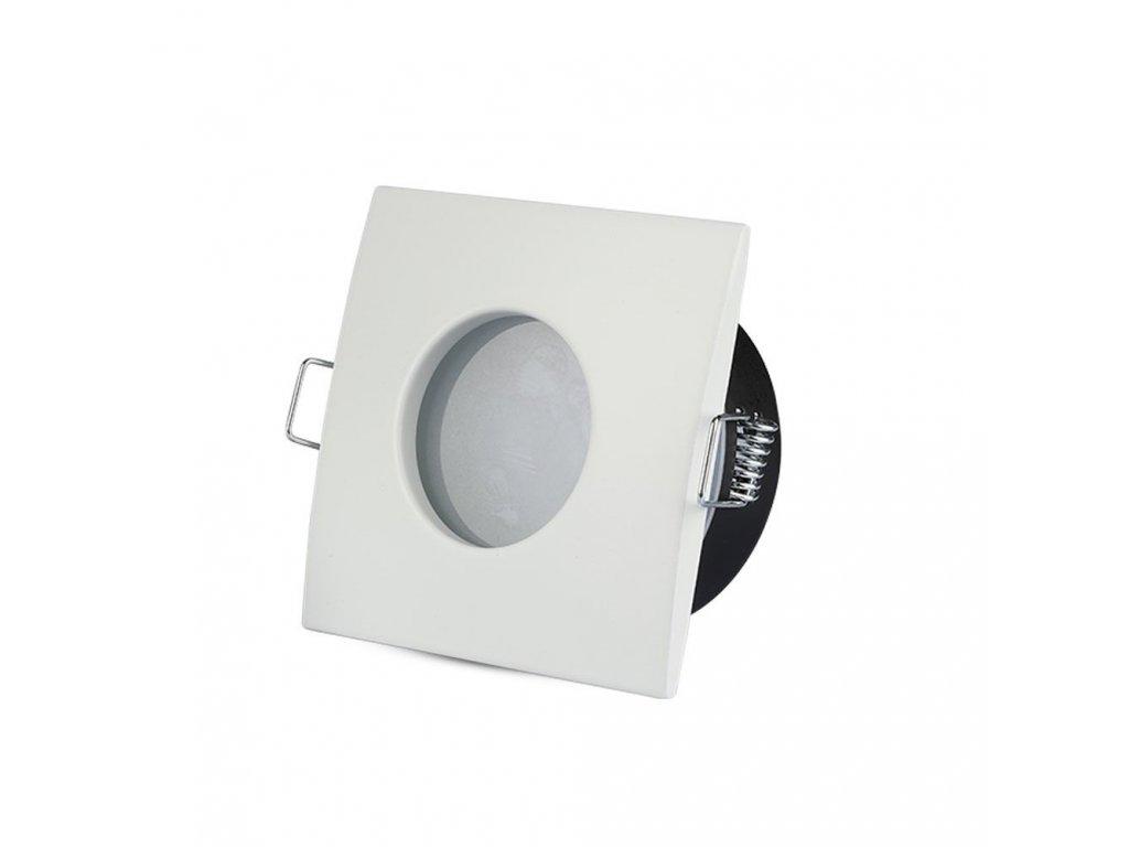 Obruba pro žárovku GU10 bílá (VT-787SQ-WH-3615)