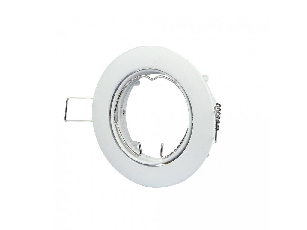 Obruba pro žárovku GU10 (VT-779-WH-RD-3587)